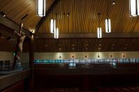 inside chapel at University of Portland